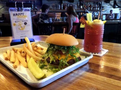 Anchor Burger + Bloody Mary